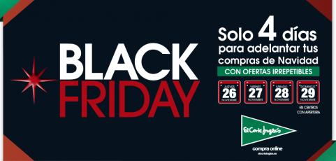 Black Friday en El Corte Inglés: las mejores ofertas de tecnología desde el 26 al 29 de noviembre