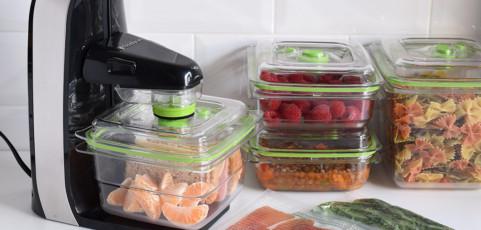 Probamos la FFS010X de FoodSaver, la envasadora perfecta a corto plazo