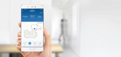 Limpia tu casa desde la oficina con los inteligentes robots de ECOVACS