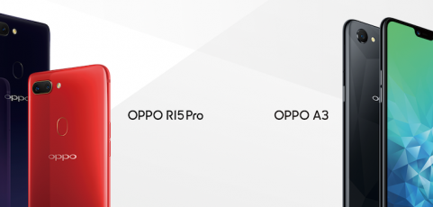 Oppo salta la Gran Muralla: así son los R15 y A3, los móviles con los que se estrena en España