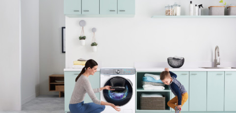 Lavadora con función vapor: qué es y cómo debe utilizarse