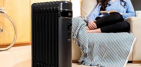 Tipos de radiadores eléctricos para calentar el hogar
