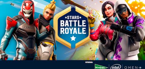 Vive un momento épico en Gamergy:  ElRubius y Lolito lideran la Stars Battle Royale de Fornite