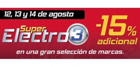 Súper Electro 3: aprovéchate de los mejores precios en televisores y electrodomésticos