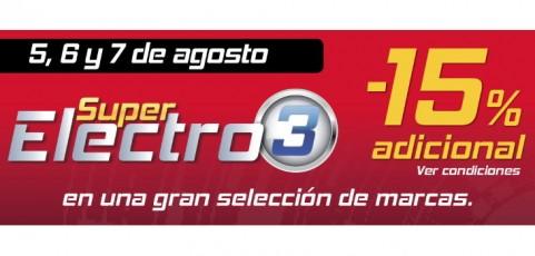 Súper Electro 3 llega con las mejores ofertas en electrodomésticos y tecnología