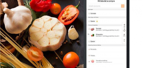 Listas de la compra más eficientes con el frigorífico que te enseña su interior desde el super