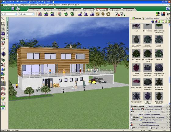saca el arquitecto que llevas dentro con arquitecto 3d 7.0