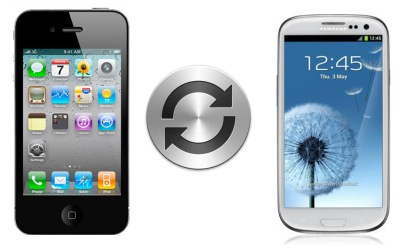 iPhone 4 Samsung Galaxy