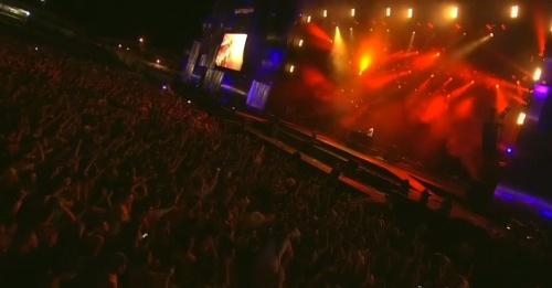 Foto de un concierto en Rock in Río.