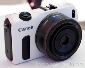 Foto de la Canon EOS M