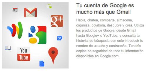 Foto de la cuenta de Google