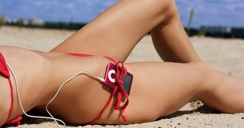 Reproductor MP3 iPod Nano color rojo