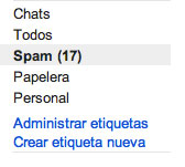 Foto Spam GMail