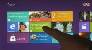 Interfaz Metro de Windows 8