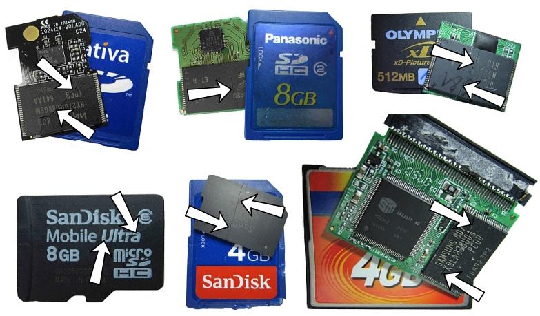 tarjeta de memoria como usar