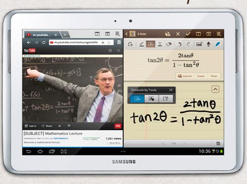 Foto del Samsung Galaxy Note 10.1
