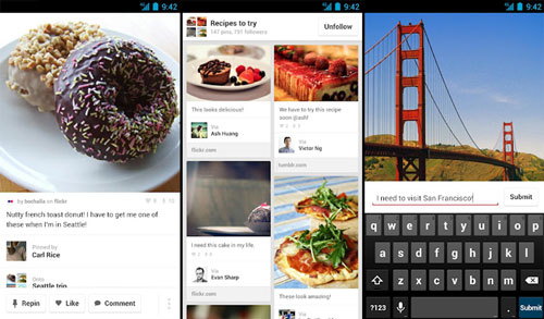Pinterest para Android