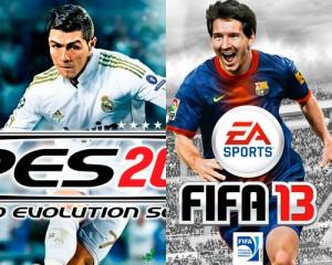 Pro Evolution Soccer 2012 FIFA 2013