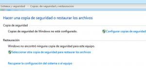 Windows Copia de Seguridad