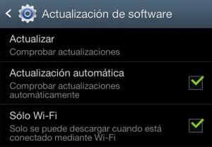 Actualizaciones Samsung Galaxy SIII