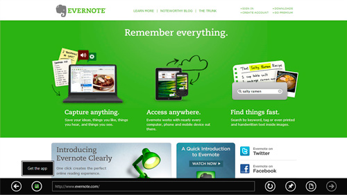 Metro Internet Explorer