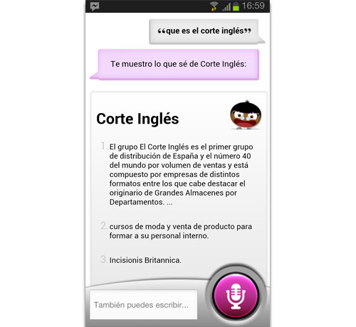 Sherpa El Corte Inglés