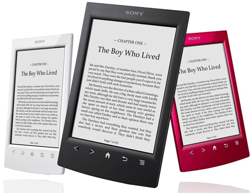 Sony Reader PRS T2