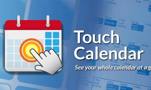 TouchCalendar