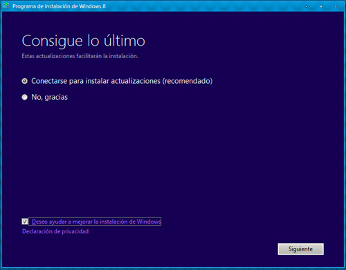 Paso 1 Windows 8