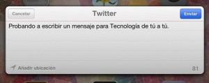 Redes Sociales iOS