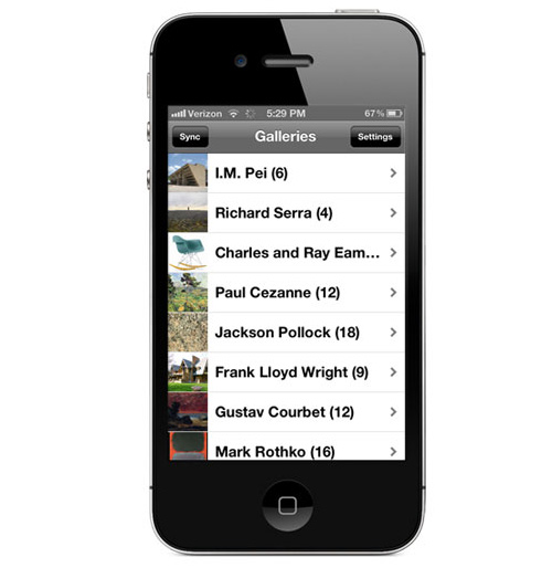 Galería iPhone