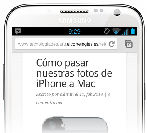 Lectura iPhone
