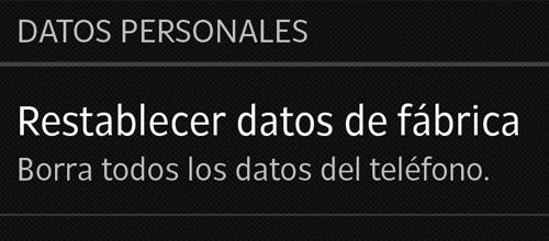 Restaurar Android