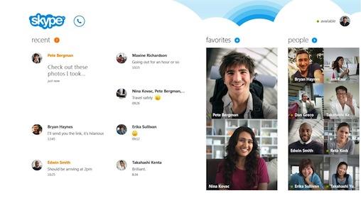 Skype Windows RT