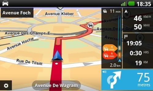TomTom GPS app