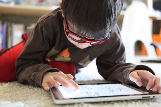 iPad Niño