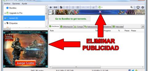 Así se elimina la molesta publicidad de µTorrent y BitTorrent en tu ordenador