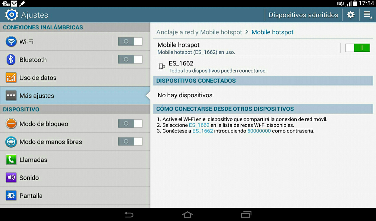 tablet android hotspot 3