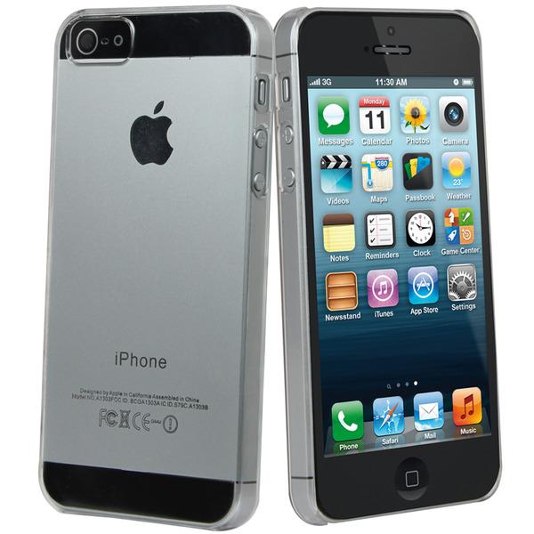 Funda de cristal Muvit para iPhone 5