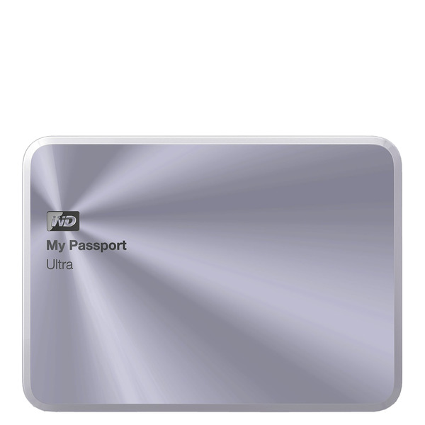 Western Digital My Passport Ultra Metal 2 TB 2,5'' USB 3.0 plata