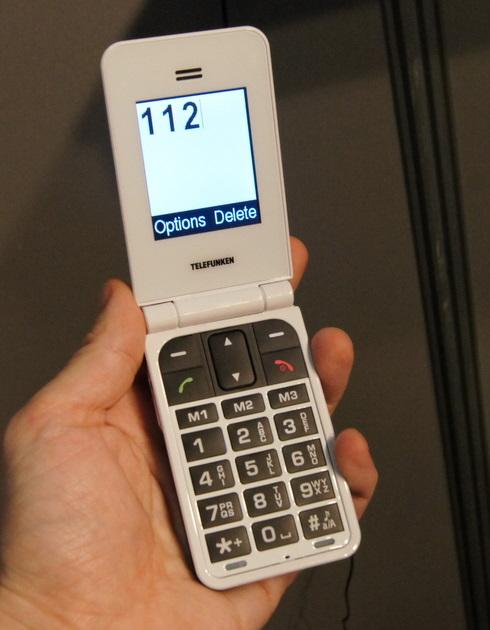 Teléfono móvil Telefunken T900