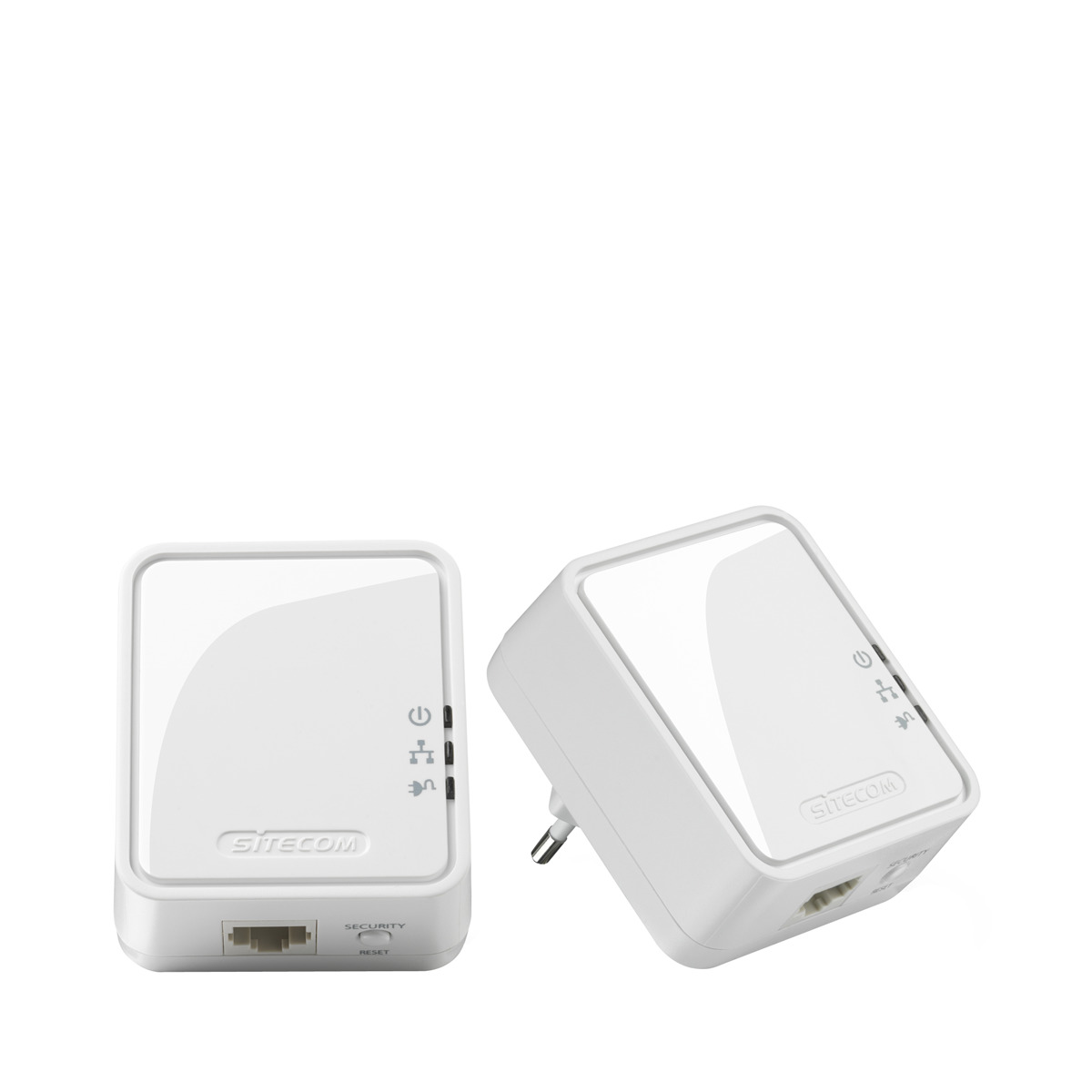 Kit adaptadores PLC Sitecom Mini Homeplug LN-551 500 Mbps