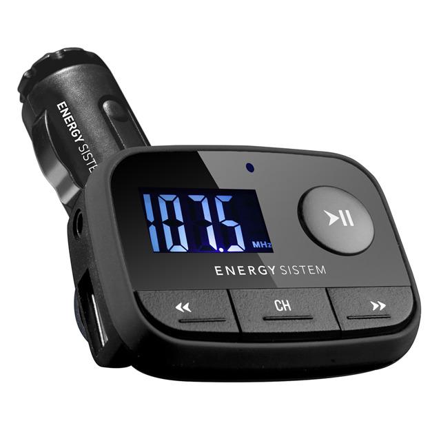 MP3 Energy Sistem f2 Black Night con FM Transmitter