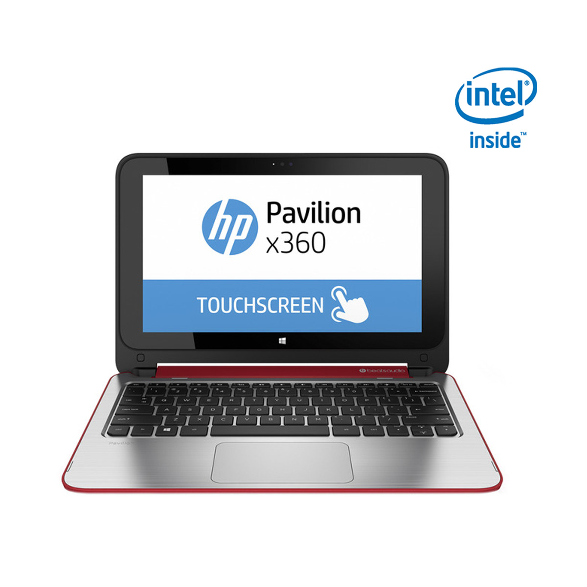 Portátil convertible 2 en 1 HP 11,6'' Pavillion x360 11-n007ns Intel Celeron N2840