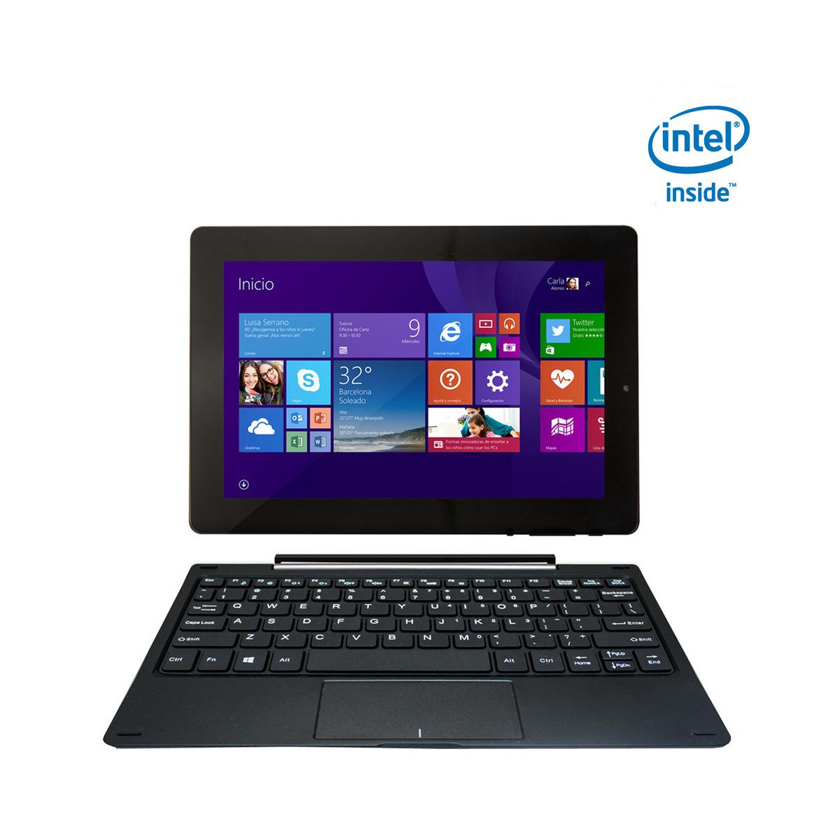 Portátil convertible 2 en 1 Vexia 10,1'' Portable 10 Intel Atom Z3735G Quad Core