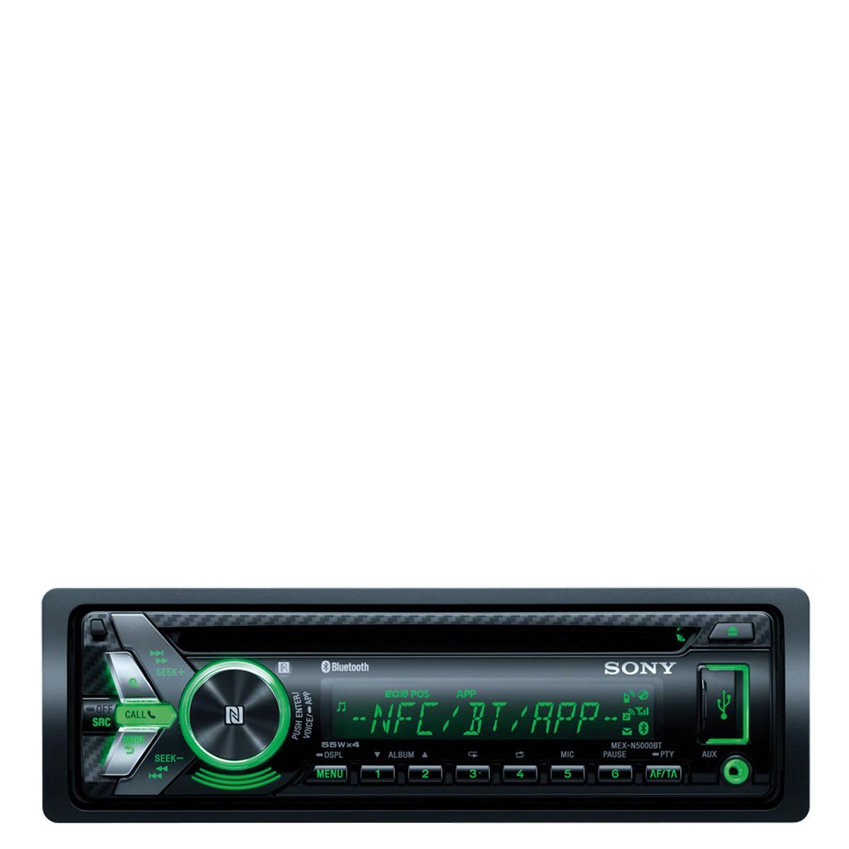 Radio CD Sony MEX-N5000BT con USB, Bluetooth y NFC
