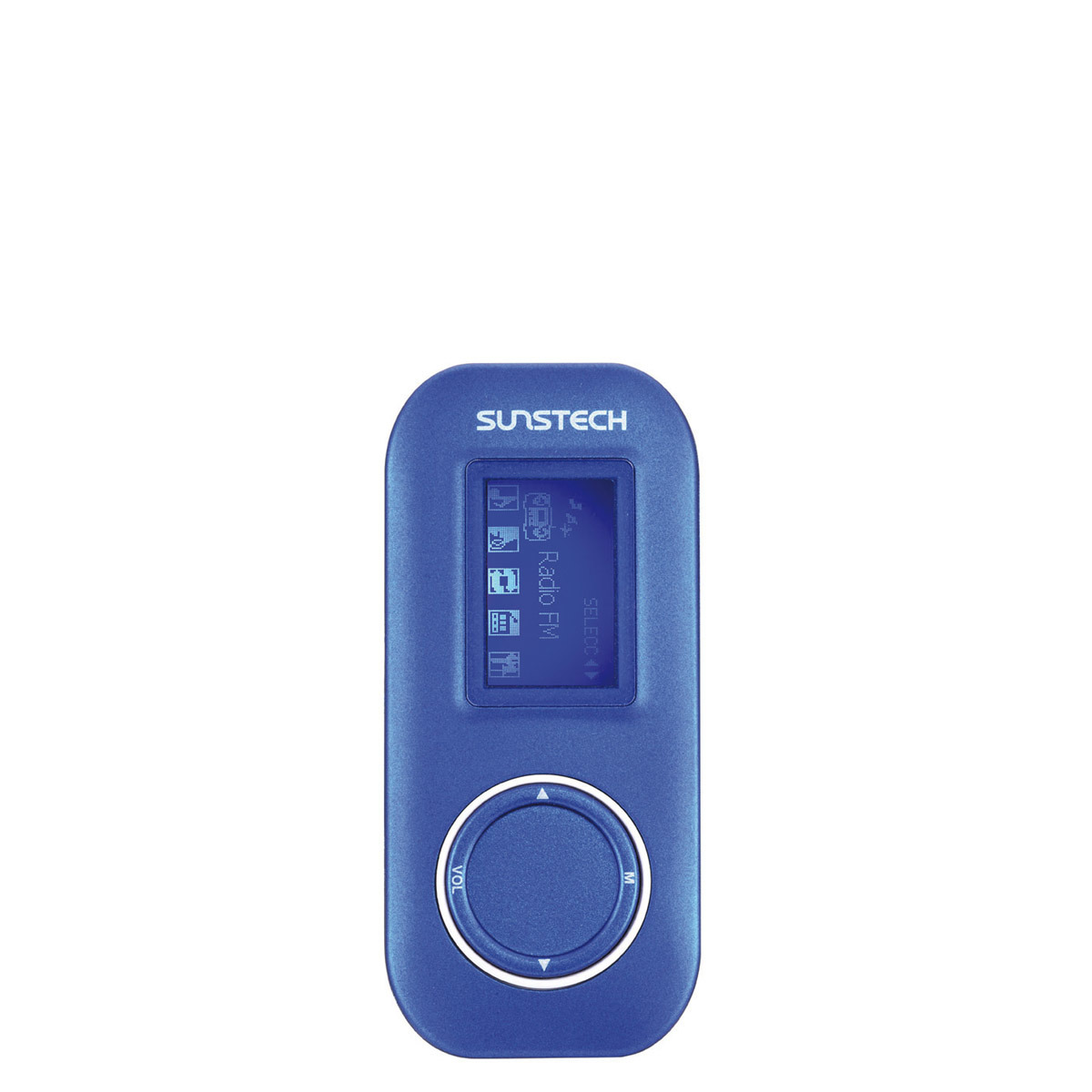 Reproductor MP3 Sunstech Fauno de 4 GB con radio FM