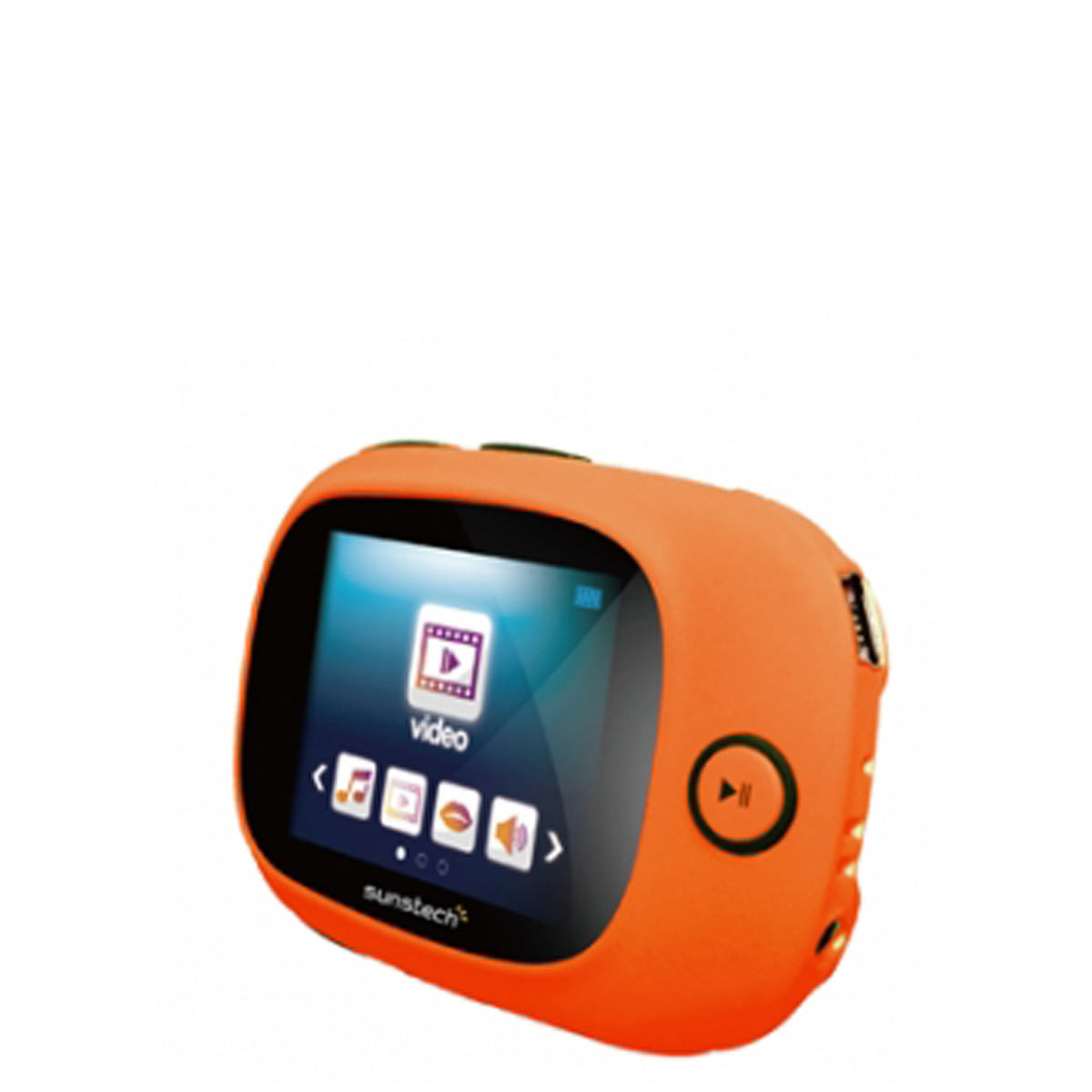 Reproductor MP4 Sunstech Sporty II TFT 1,8'' de 8 GB con radio FM
