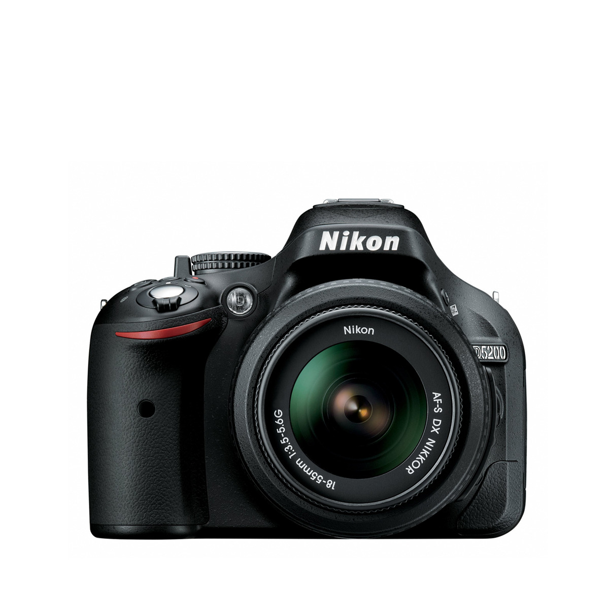 Cámara réflex digital Nikon D5200 con Objetivo AF-S DX 18-55mm
