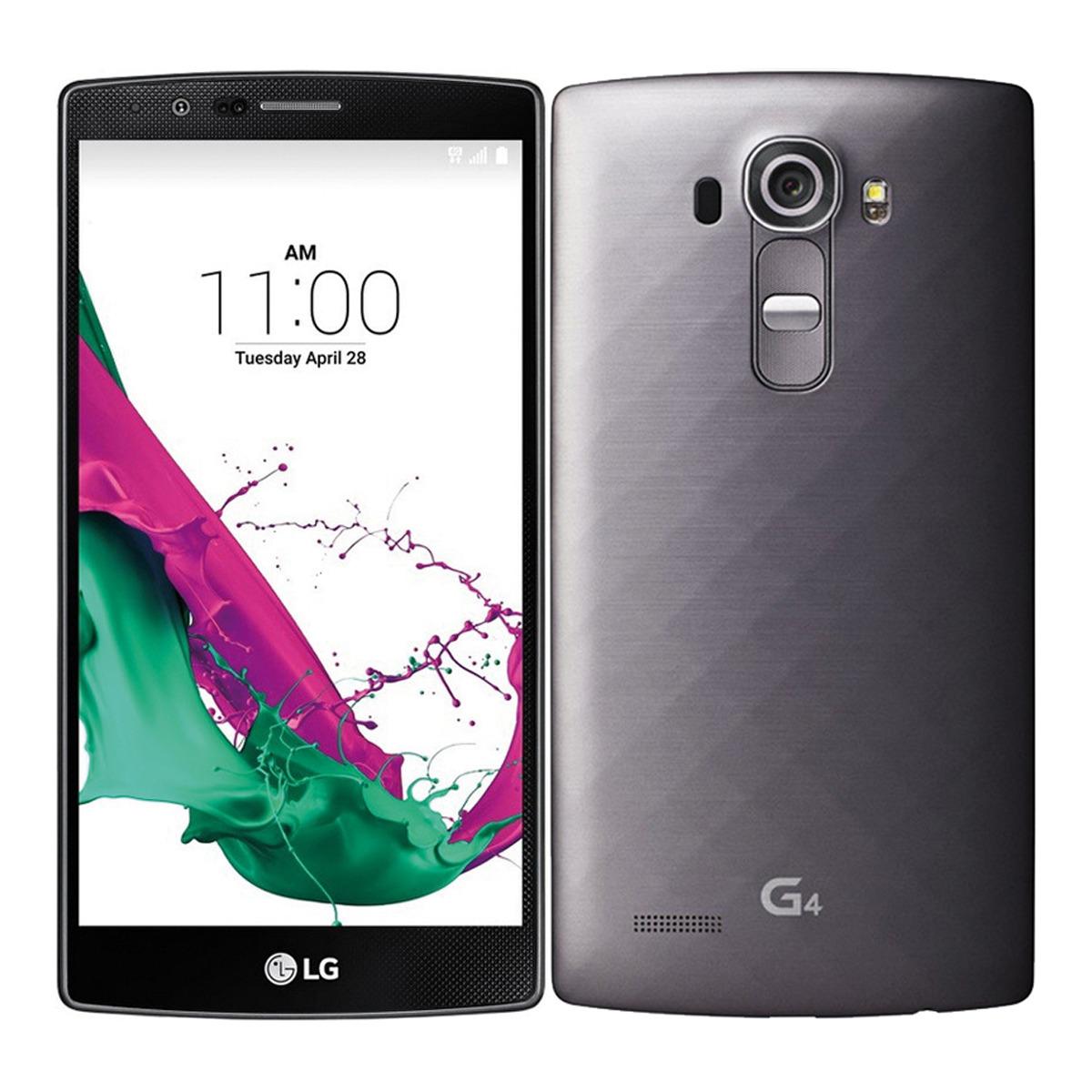 Smartphone libre LG G4 H815 Titanio